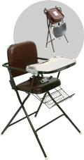 Where to rent HIGH CHAIR - METAL WITH TRAY in Cleveland OH