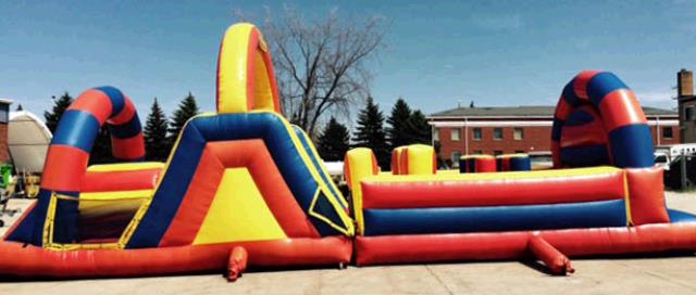 Where to find INFLATABLE, OBSTACLE COURSE, 40 in Cleveland