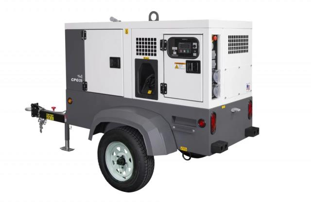 Where to find GENERATOR,TOWABLE,25 KVA in Cleveland