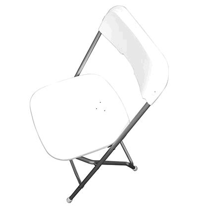 Where to find WHITE PLASTIC CHAIR - FOR SALE in Cleveland