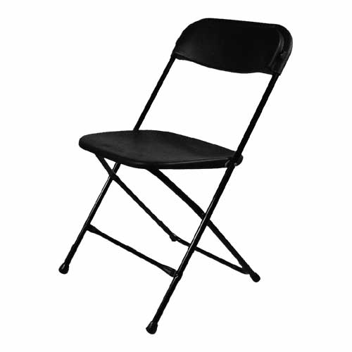 Where to find BLACK PLASTIC CHAIR - FOR SALE in Cleveland