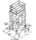 Where to rent SCAFFOLD, BUILD TO ORDER - 5 in Cleveland OH