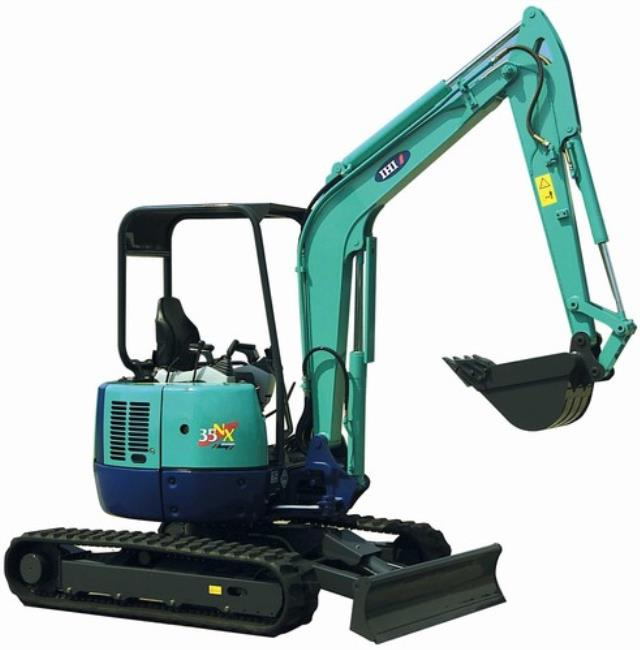 Where to find EXCAVATOR, WITH BLADE, 11 6 , IHI, 35NX in Cleveland