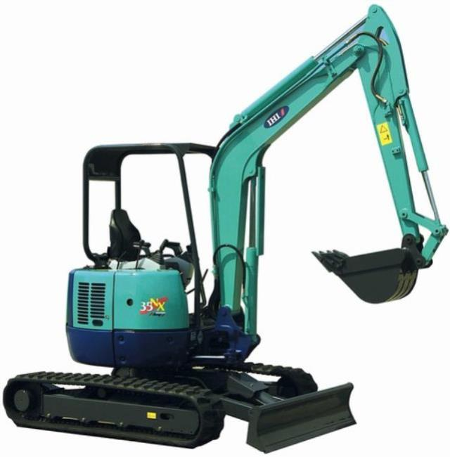 Where to find EXCAVATOR, WITH BLADE, 8 2 , IHI, 25NX in Cleveland