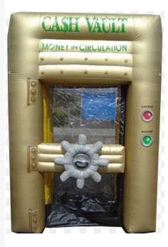 Where to find INFLATABLE, CASH VAULT in Cleveland
