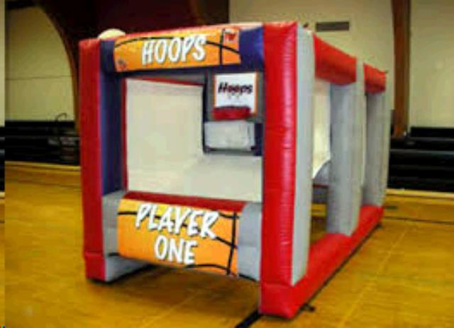 Where to find INFLATABLE, HOOPS CHALLENGE in Cleveland