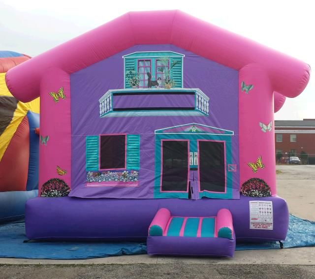 Where to find INFLATABLE, DOLL HOUSE in Cleveland