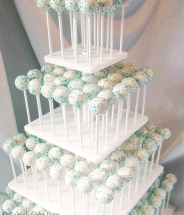 Where to find 4 TIER SQUARE CAKE POP TOWER in Cleveland
