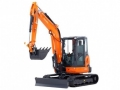 Where to rent EXCAVATOR, WITH BLADE, 7 9 , KUBOTA in Cleveland OH
